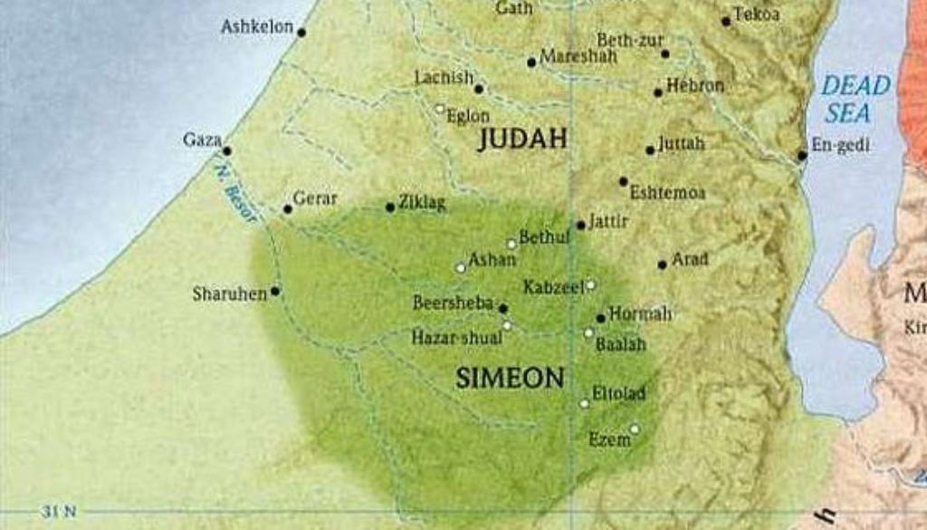 Joshua 15:1-63 Judah's Portion