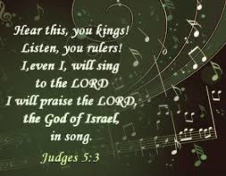 Judges 5:1-31 Victory Song