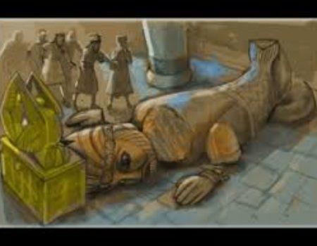 1 Samuel 5:1-12 Dagon's Down