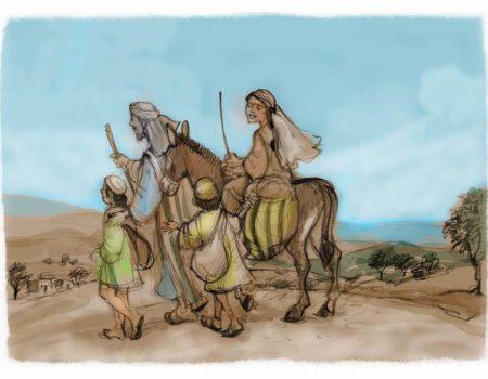 Ruth 1:1-5 A Hard Life