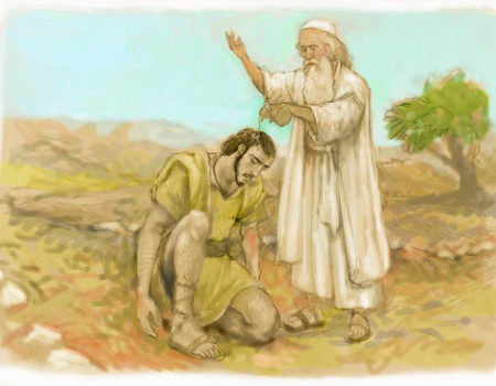 1 Samuel 10:1-16 Private Anointing
