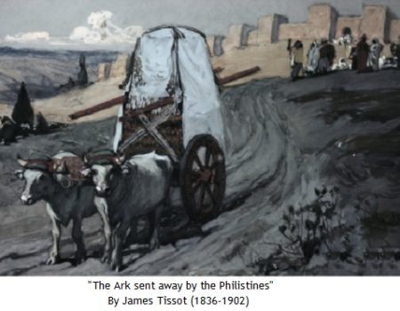 1 Samuel 6:1-7:2 The Ark Comes Home