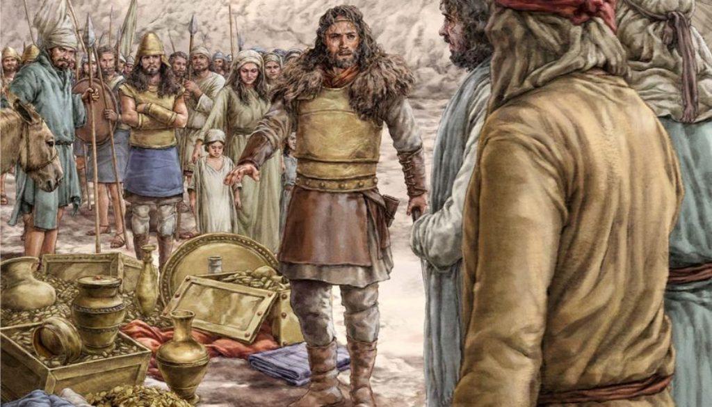 1 Samuel 27:1-12 Enemy Camp