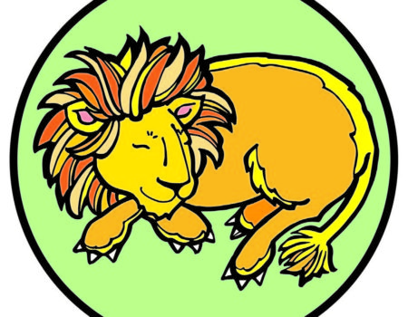 Jesse Tree December 18 Lion