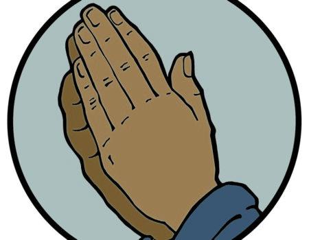 Jesse Tree December 20 Praying Hands