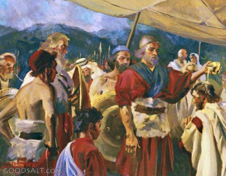 2 Samuel 2:1-7 David Crowned
