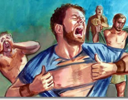 2 Samuel 1:1-16 David Mourns