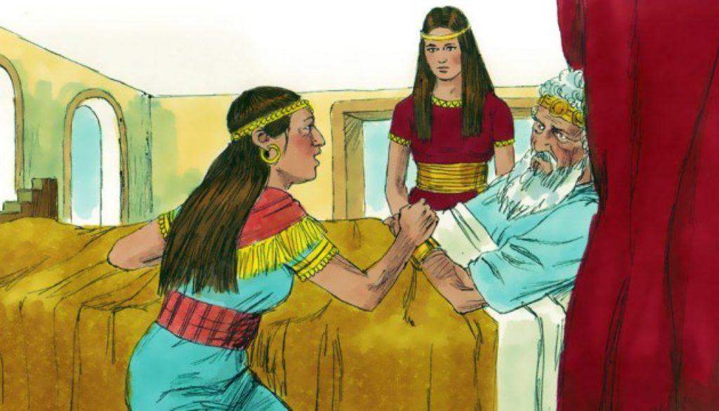 1 Kings 1:11-27 David Hears