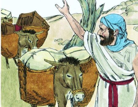 2 Samuel 16:1-4 Help Arrives