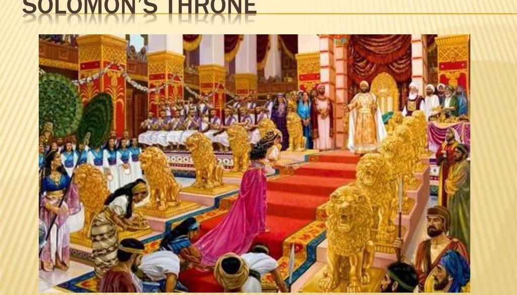 1 Kings 10:14-29 Deep Pockets