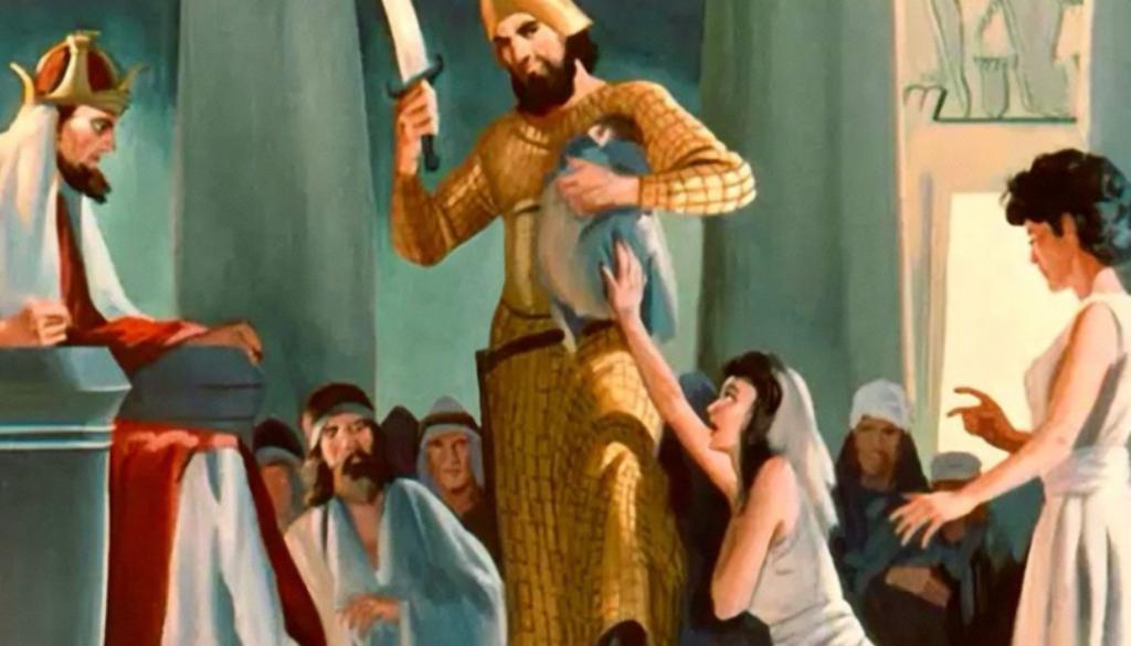 1 Kings 3:16-28 Divide It