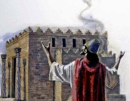 1 Kings 8:22-53 Prophetic Prayer