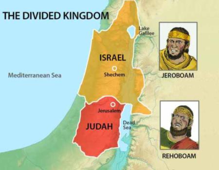 1 Kings 12:16-24 Torn In Two