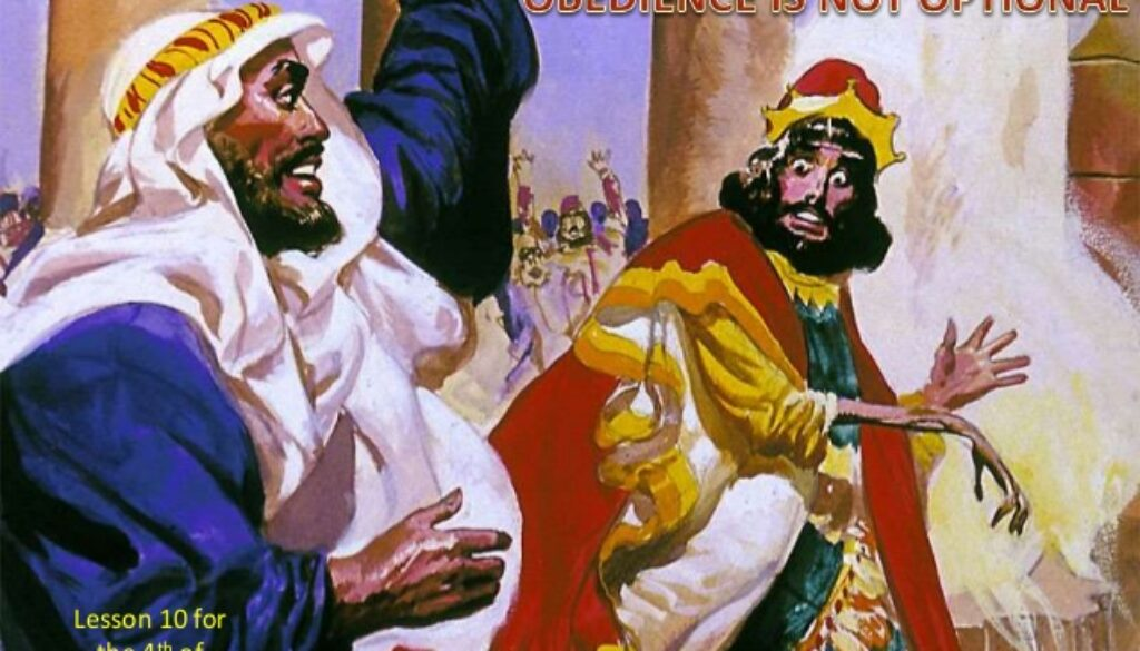 1 Kings 13:1-10 Caught Dead Handed