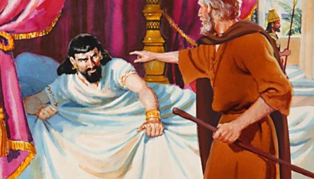 2 Kings 1:1-18 Elijah & Ahaziah