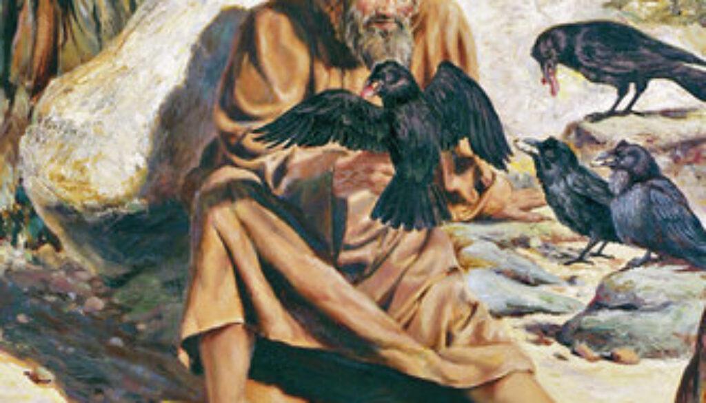 1 Kings 17:1-7 Elijah Enters