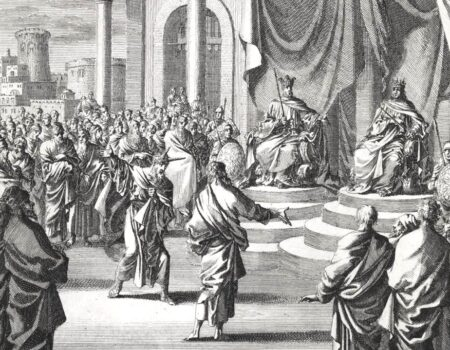 1 Kings 22:1-12 False Reports