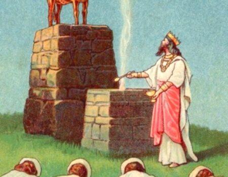 1 Kings 14:19-20 Jeroboam Dies