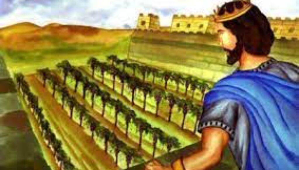1 Kings 21:1-16 King's Tantrum