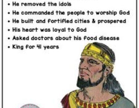 1 Kings 15:9-24 Asa's Reign