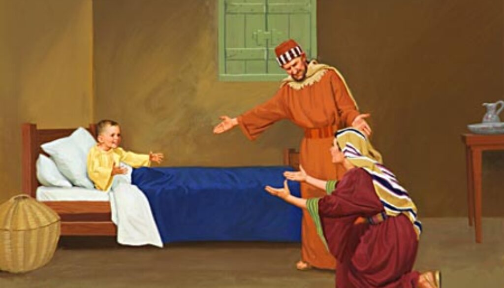2 Kings 4:18-37 A Child Restored