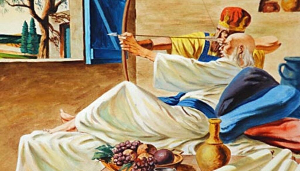 2 Kings 13:14-25 Elisha Dies