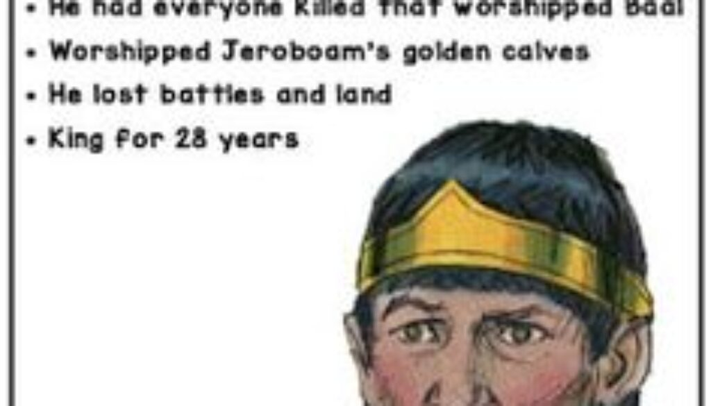 2 Kings 10:28-36 Jehu's Reign