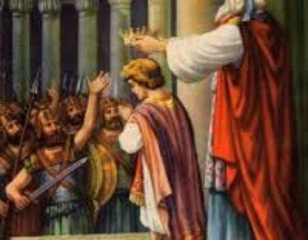 2 Kings 11:4-20 Joash Anointed