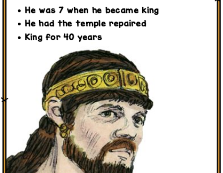 2 Kings 11:21-12:3 Joash's Reign