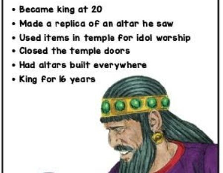 2 Kings 16:1-20 Ahaz's Reign