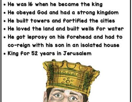 2 Kings 15:1-7 Azariah's Rule