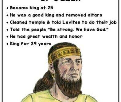 2 Kings 18:1-12 Hezekiah's Reign