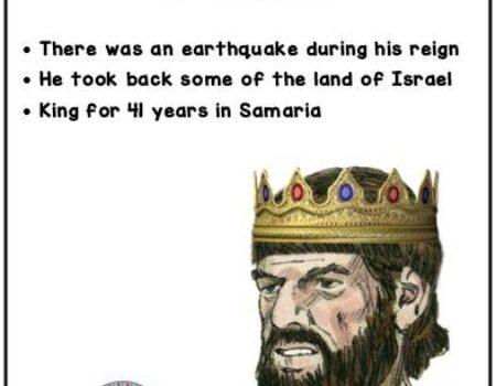 2 Kings 14:23-29 Jeroboam II Reign
