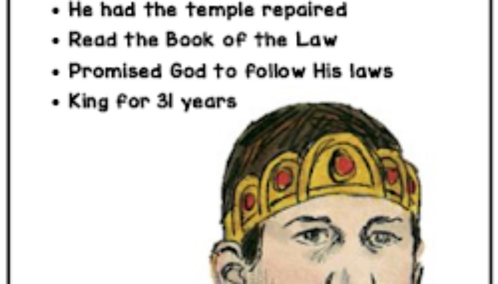 2 Kings 22:1-2 Josiah's Reign