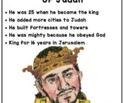 2 Kings 15:32-38 Jotham's Reign
