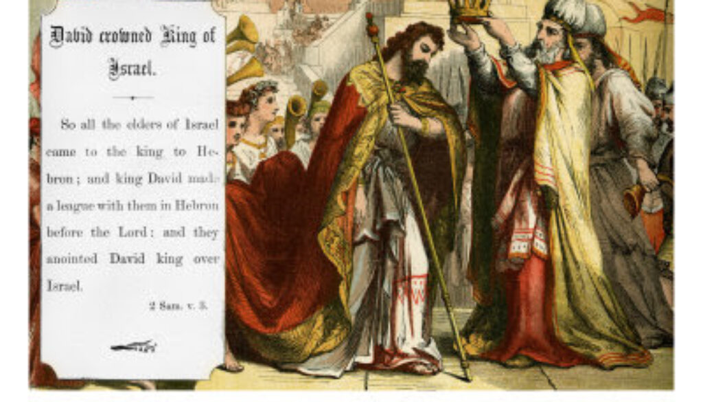 1 Chronicles 11:1-3 David's Reign