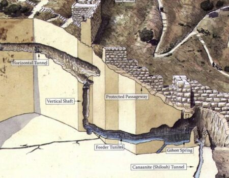 1 Chronicles 11:4-9 Jebus Falls