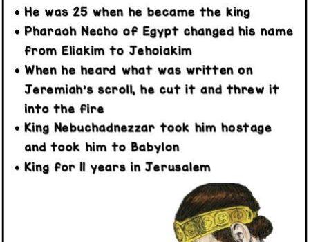 2 Kings 23:36-24:7 Jehoiakim Reign