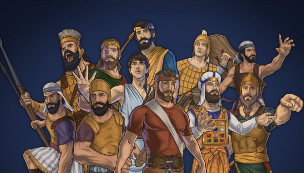 1 Chronicles 11:10-47 Mighty Men