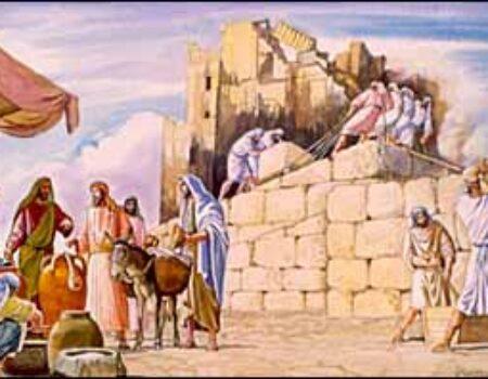 1 Chronicles 9:1-34 Returnees