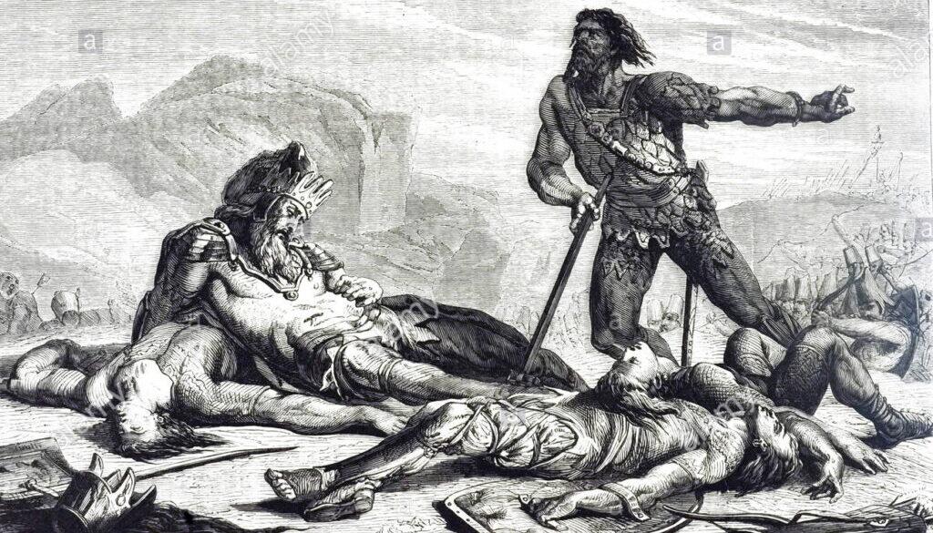 1 Chronicles 10:1-14 Saul's Death