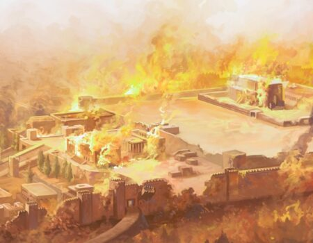 2 Kings 25:1-21 The Walls Fall