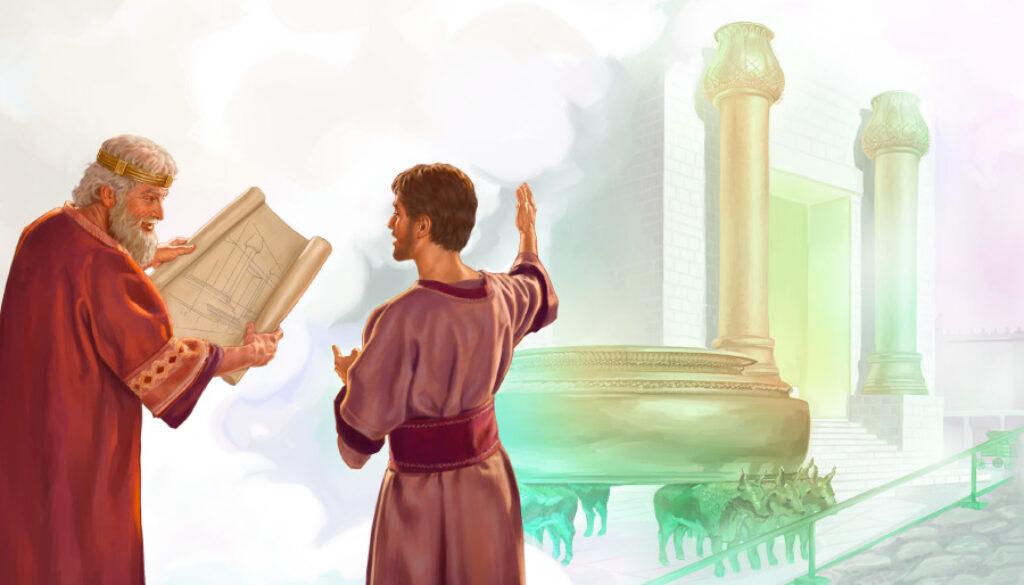 1 Chronicles 22:2-5 Plans Laid