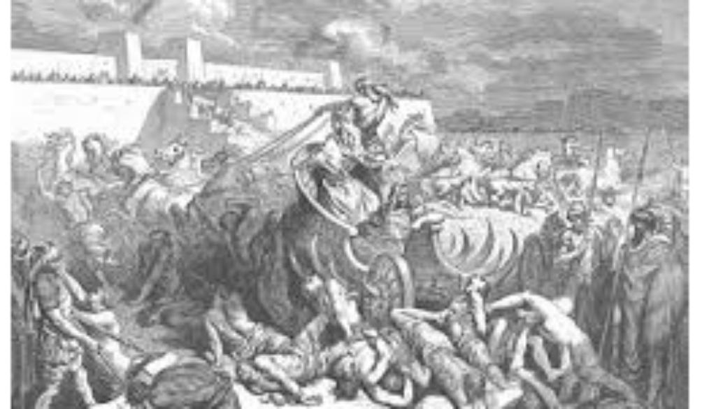 1 Chronicles 20:1-3 Rabbah Falls